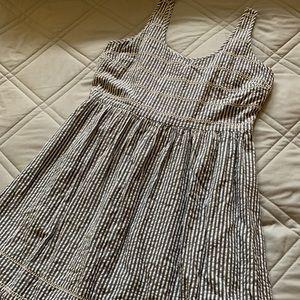 Cool, cute, and comfy seersucker cotton dress